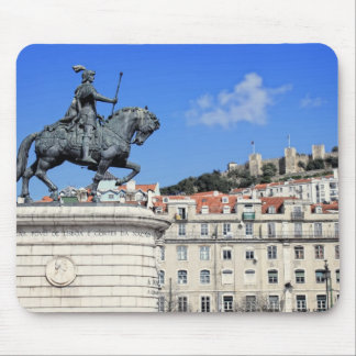 Praca da Figueira, Lisbon, Portugal Mouse Pad