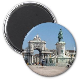 Praca do Comercio 2 Inch Round Magnet