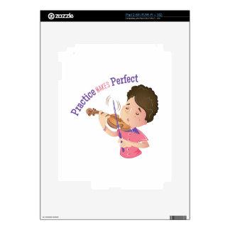 Práctica Calcomanía Para iPad 2