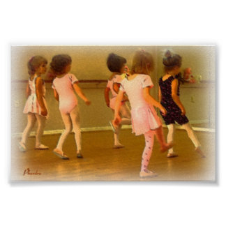 Práctica del ballet poster