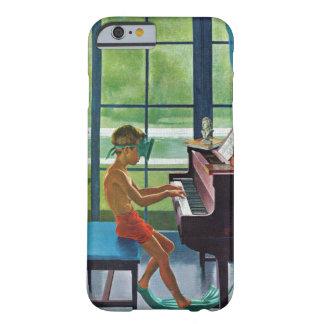 Práctica del piano del Poolside Funda Para iPhone 6 Barely There
