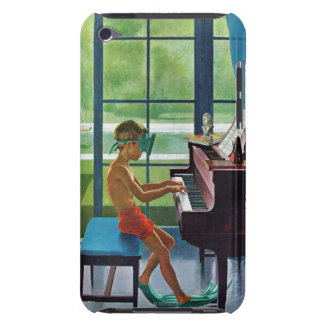 Práctica del piano del Poolside iPod Touch Case-Mate Cobertura