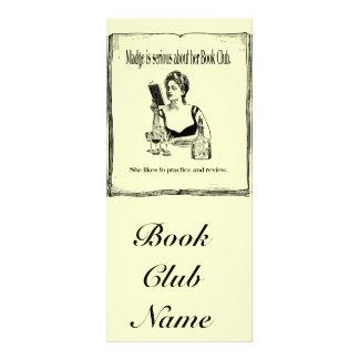 Práctica para el diseño del vintage del círculo de tarjeta publicitaria personalizada