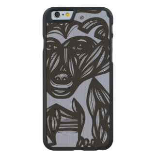 Practical Good Exciting Adorable Carved® Maple iPhone 6 Slim Case