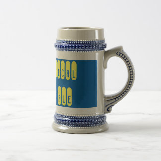 Practical Pale Ale Pinup Gray/Blue 22 oz Stein