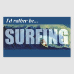Practicando surf estaría practicando surf bastante