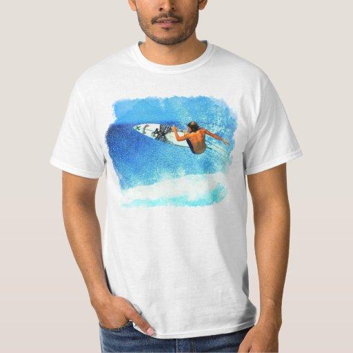 Practicar surf 1 camisa