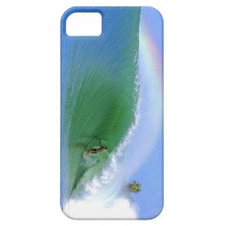 Practicar surf La identificación perfecta de la ca iPhone 5 Case-Mate Carcasa