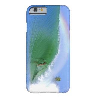 Practicar surf La identificación perfecta del Funda De iPhone 6 Barely There