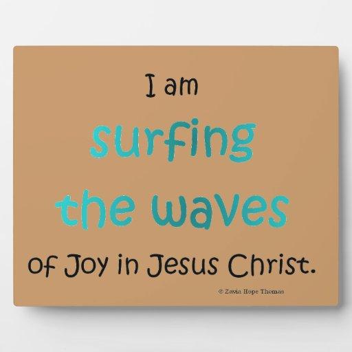 practicar surf las ondas placa de madera