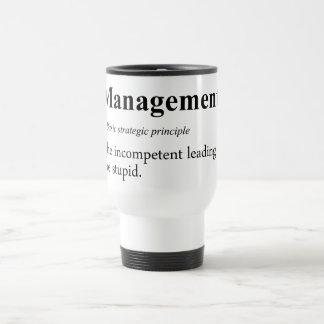 Prácticas estratégicas de la gestión ejecutiva taza térmica