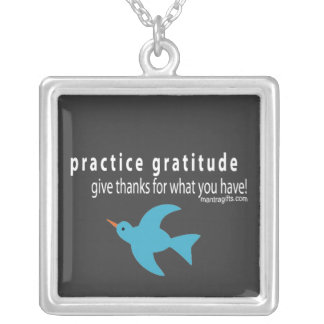 Practice Gratitude Necklace