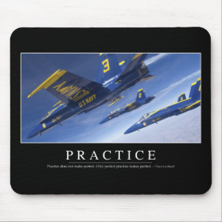 Practice: Inspirational Quote Mouse Pad