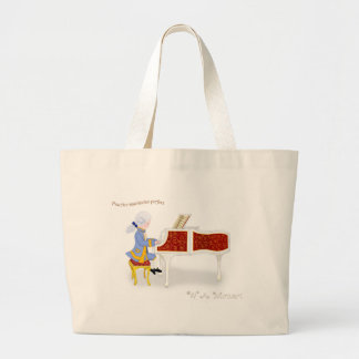 Practice Maintains Perfect Large Tote Bag