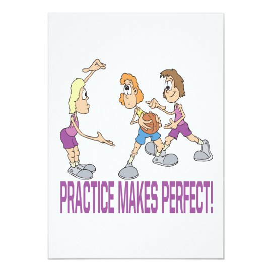 Practice Makes Perfect Card