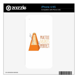 Practice Makes Perfect iPhone 4S Skin
