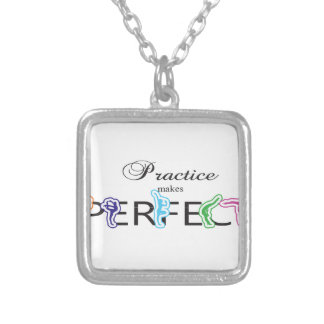Practice makes Perfect Necklaces