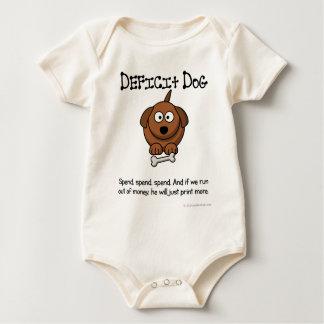 Practice of deficit spending baby bodysuit