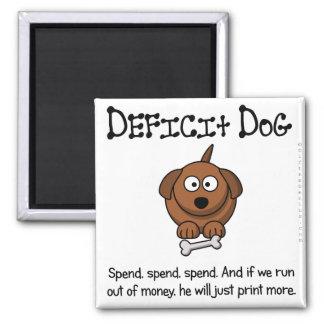 Practice of deficit spending magnet