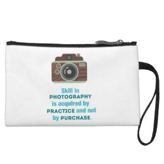Practice Photography Wristlet Clutches