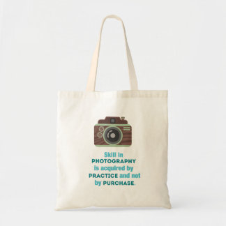 Practice Photography Canvas Bag