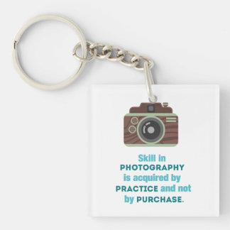 Practice Photography Keychain