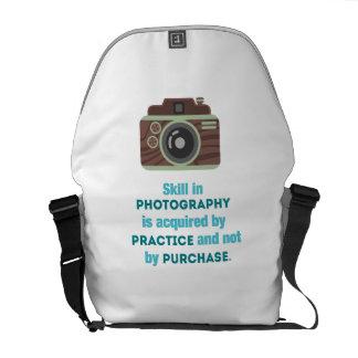 Practice Photography Messenger Bag