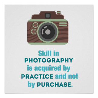 Practice Photography Poster
