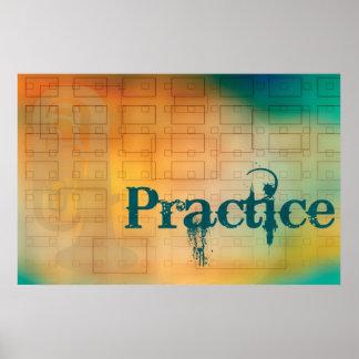Practice Poster - Tuba