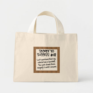 Practice Proper Office Etiquette Mini Tote Bag