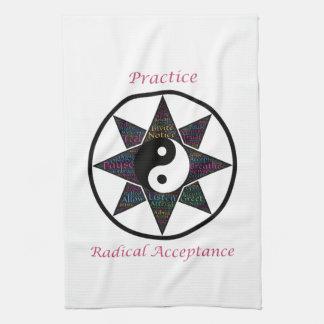Practice Radical Acceptance Kitchen Towel