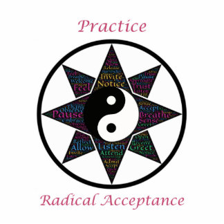 Practice Radical Acceptance Photo Sculptures