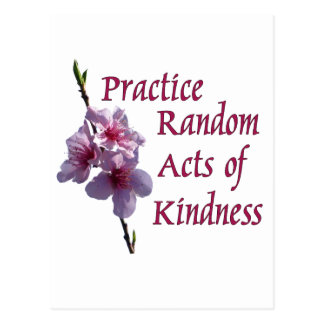 Practice Random Acts of Kindness Postcard
