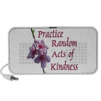 Practice Random Acts of Kindness iPod Speakers