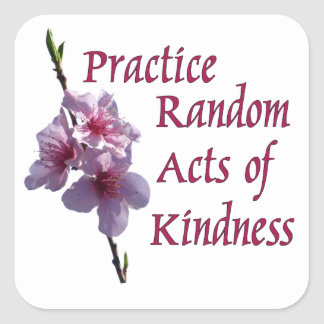 Practice Random Acts of Kindness Stickers