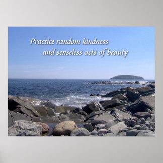 Practice Random Kindness Poster