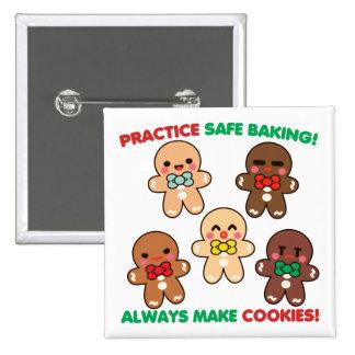 Practice Safe Baking! Pins