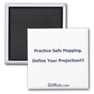 Practice Safe Mapping Magnet