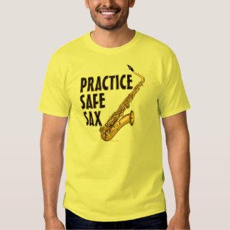 Practice Safe Sax - Tenor T-shirt