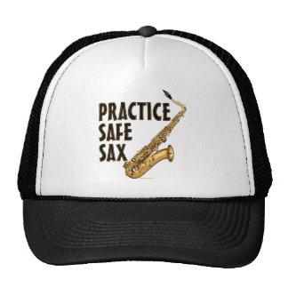 Practice Safe Sax - Tenor Trucker Hat