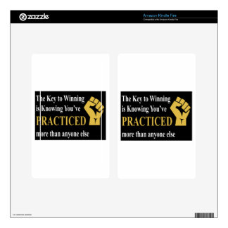 Practice to Win Skins For Kindle Fire