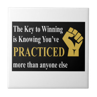 Practice to Win Tile