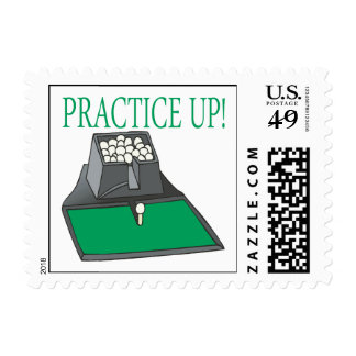 Practice Up Postage Stamp