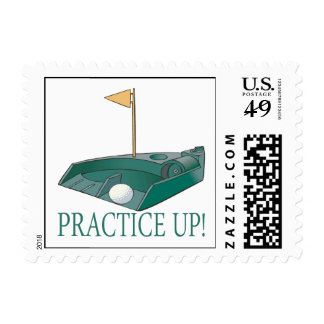 Practice Up Postage Stamps