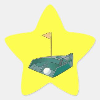 Practice Up Star Sticker