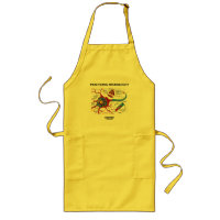 Practicing Neurologist Inside (Neuron Synapse) Long Apron