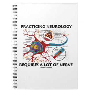 Practicing Neurology Requires A Lot Of Nerve Note Books