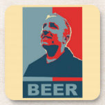 Práctico de costa 2012 de la cerveza de Dave - cor Posavasos De Bebidas
