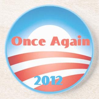 Práctico de costa 2012 de Obama Posavasos Personalizados