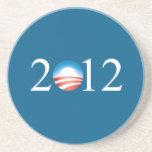Práctico de costa 2012 de Obama Posavasos Para Bebidas